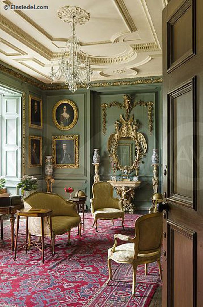 Georgian Drawing Room: Prideaux Place Is A Grade I Listed Elizabethan Country
