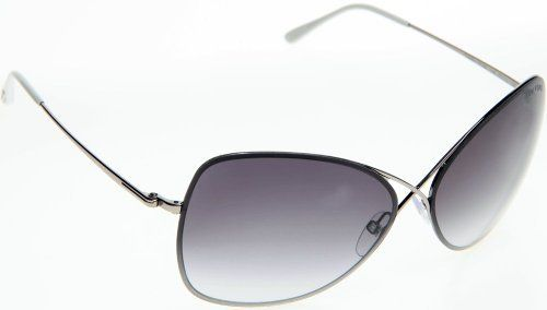 Light Smoke Lens 510 2 Ellen Tracy Womens Sunglass Blue Metal Aviator
