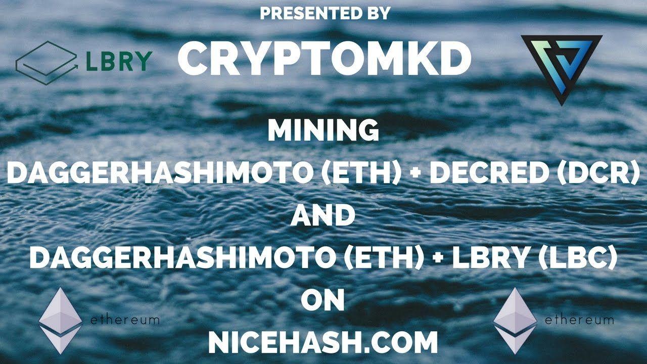 How to mine on Nicehash com | Crypto MKD - Mining Alternative Crypto