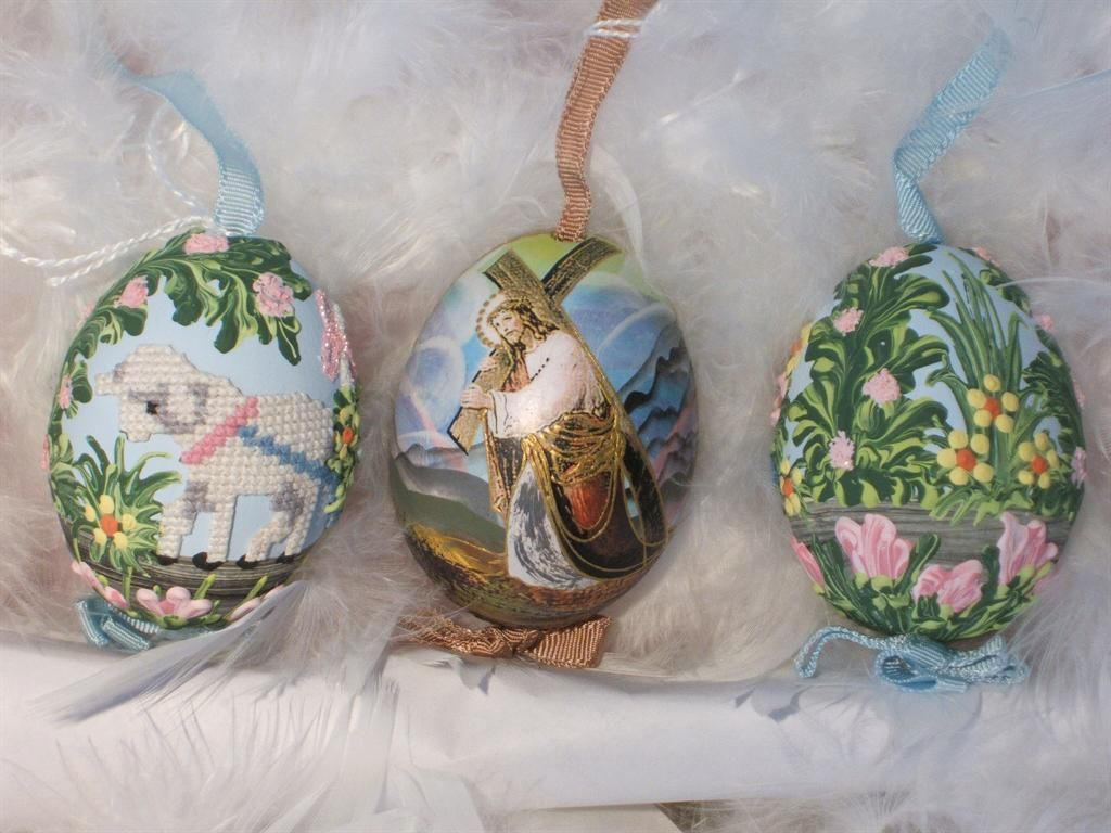 Painted Eggs Austria | Hand Painted Austrian Easter Eggs | Coeur d'Alene