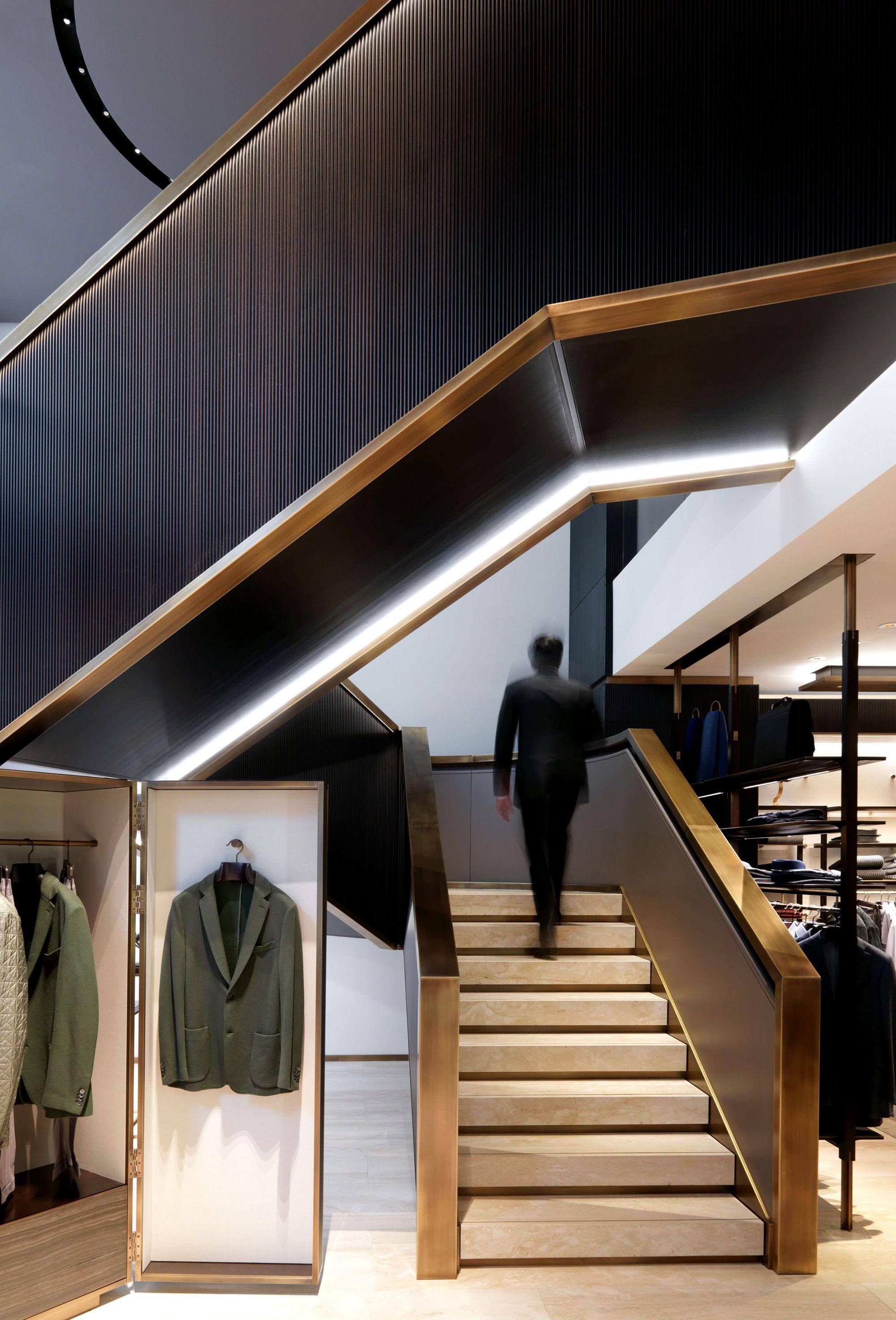 Best Brioni Boutiques Worldwide Retail Interior Design 400 x 300