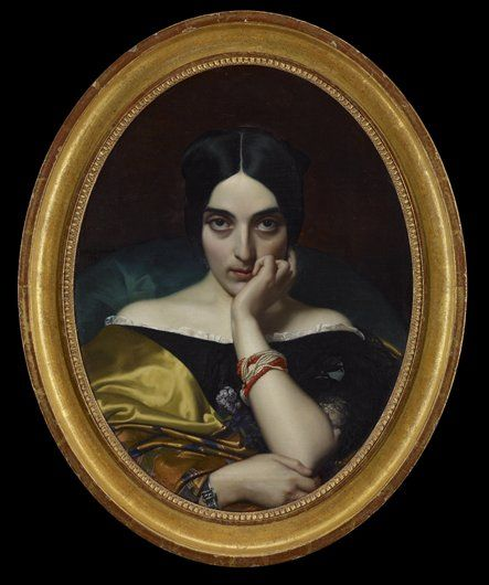 Portrait of Clémentine (Mrs. Alphonse) Karr ARTIST:Karl-Ernest-Rodolphe-Heinrich-Salem Lehmann DATE:1845 MEDIUM:Oil on canvas DIMENSIONS:26 x 19 7/8 in. (66.0 x 50.5 cm) CREATION PLACE:Europe, France, Paris CREDIT LINE:The Christina N. and Swan J. Turnblad Memorial Fund ACCESSION NUMBER:67.53