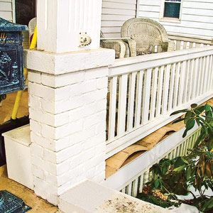 Buckled Porch Boards Decks And Porches Diy Home Repair Diy Home Improvement