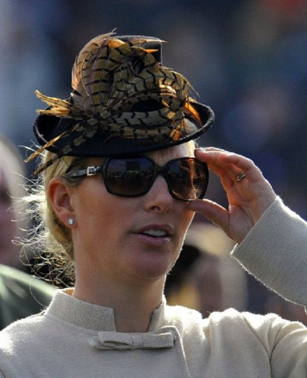 Britain's Zara Phillips during the first day of the 2014 ...