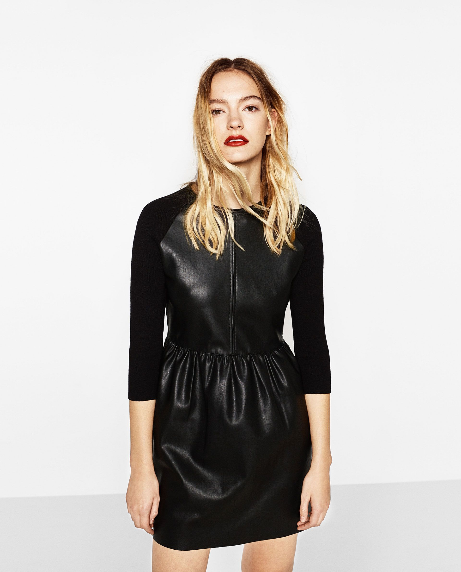 Pin by clara mari on look pinterest leather dresses leather and