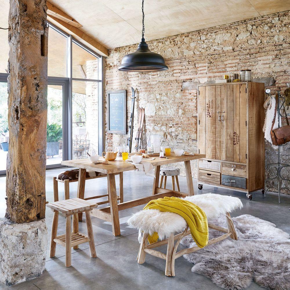 corps de ferme mur briques apparentes poutres maison pinterest maisonsdumonde corps de. Black Bedroom Furniture Sets. Home Design Ideas