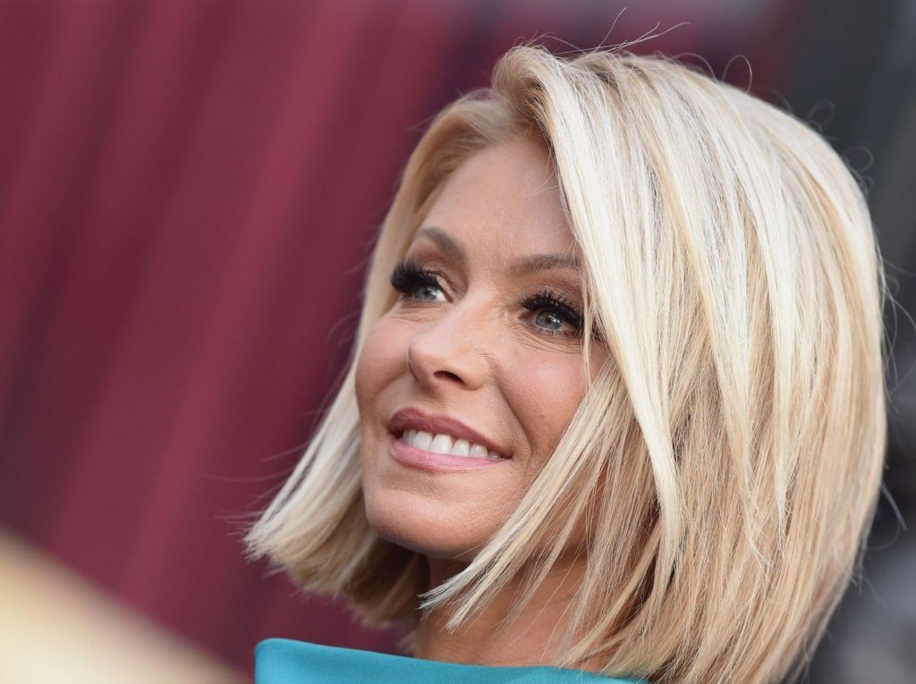 Kelly Ripa Hair Google Search Kelly Ripa Hair Bob Hairstyles Hair Styles