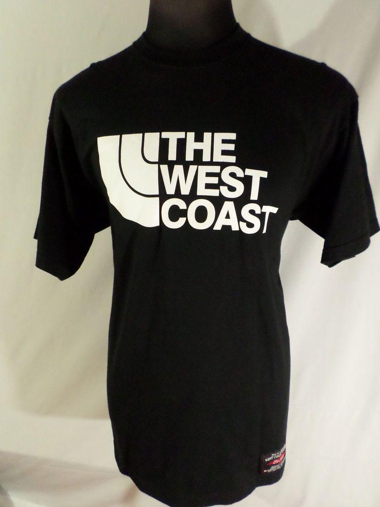 WestCoast #Cali North Face Shirt XL Black White #FabriCali