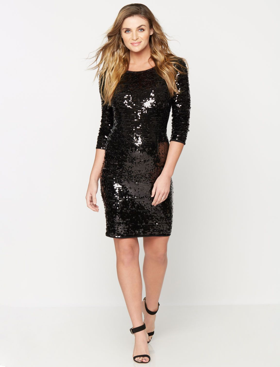 Showstopper style 34 sleeve sequin maternity dress by laundry showstopper style 34 sleeve sequin maternity dress by laundry by shelli segal available ombrellifo Gallery