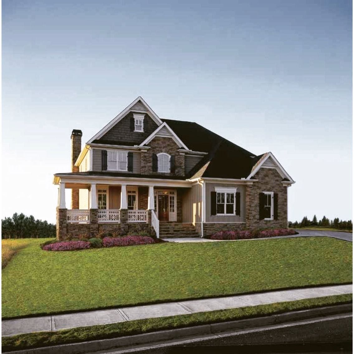 Craftsman Style House Plan 4 Beds 2.5 Baths 2443 Sq/Ft