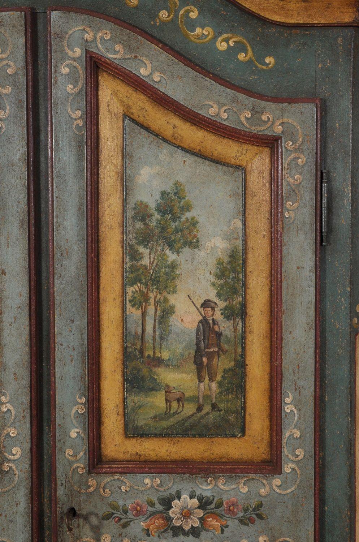 Armadio di lusso decorato a mano in stile '700 barocco ...