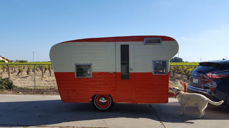 1968 Scotsman Vintage camper, Vintage trailer