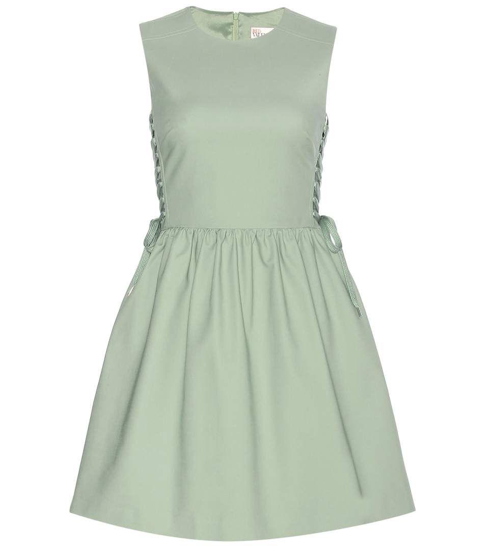 mytheresa.com - Lace-up dress - Luxury Fashion for Women / Designer clothing, shoes, bags