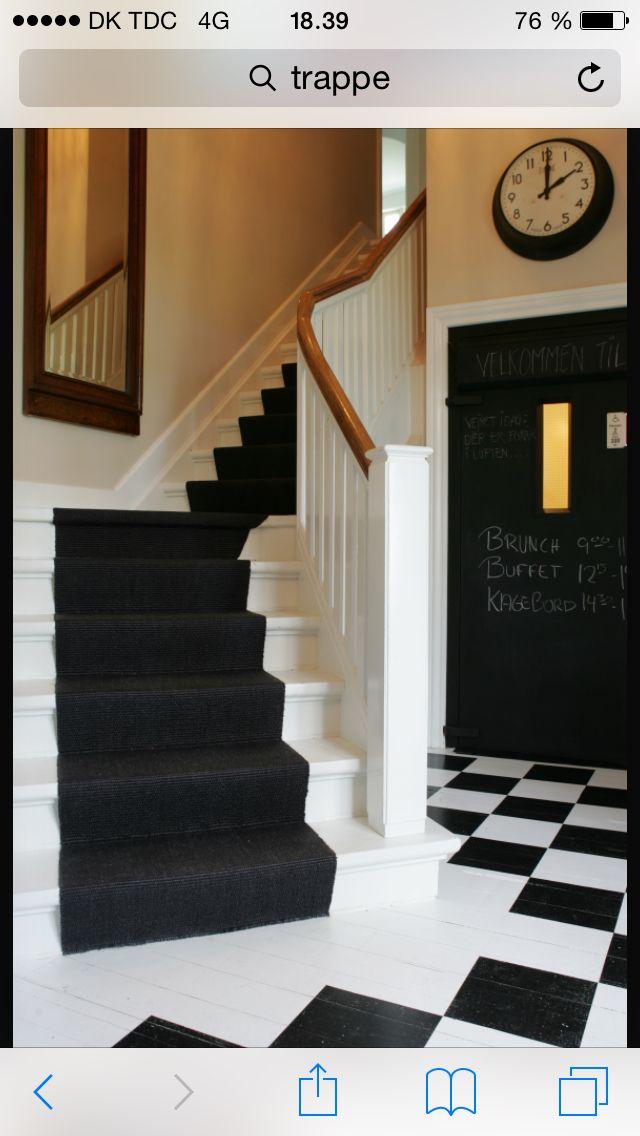 Løber til trappe