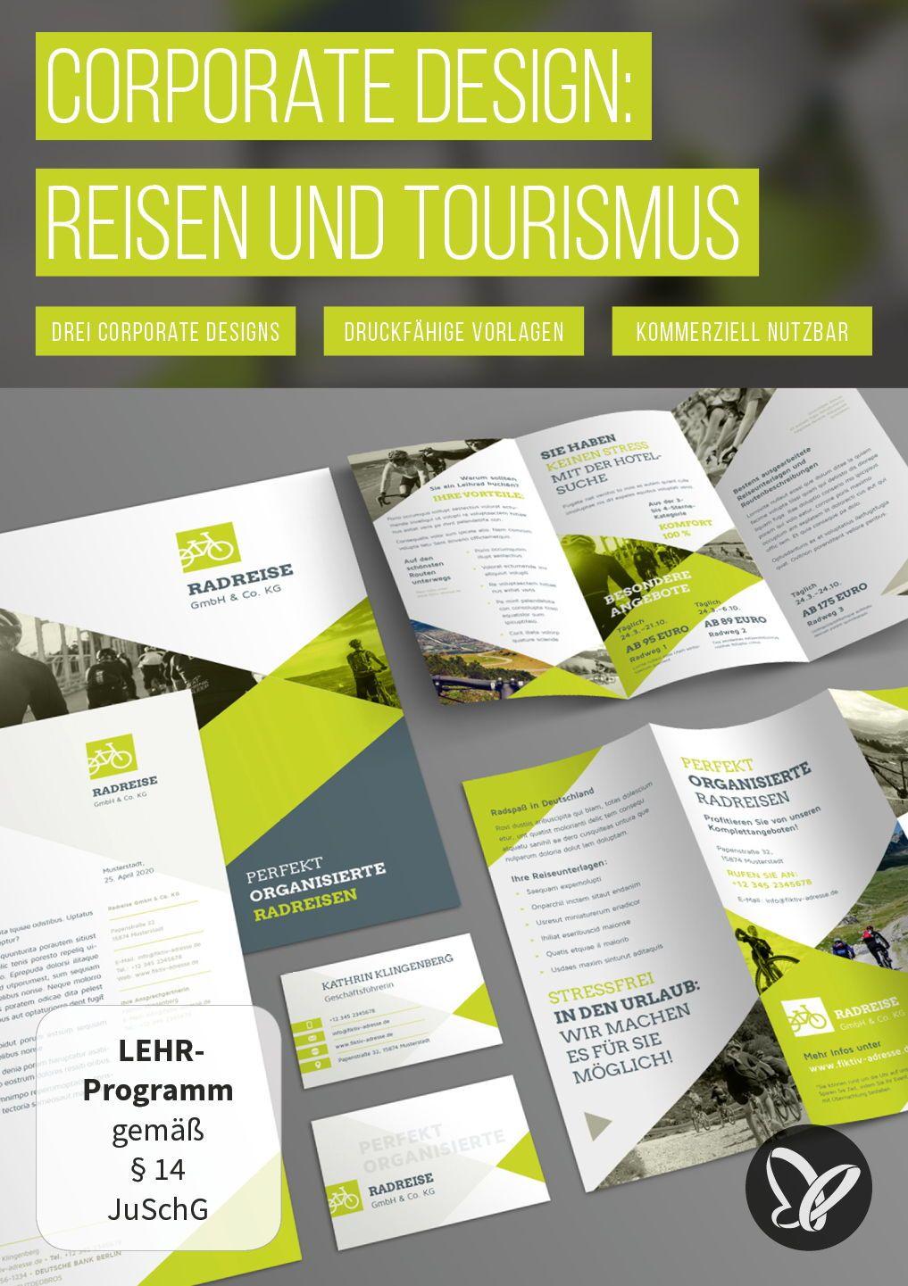 Vorlagen Für Urlaubs Und Reisewerbung Reiseflyer