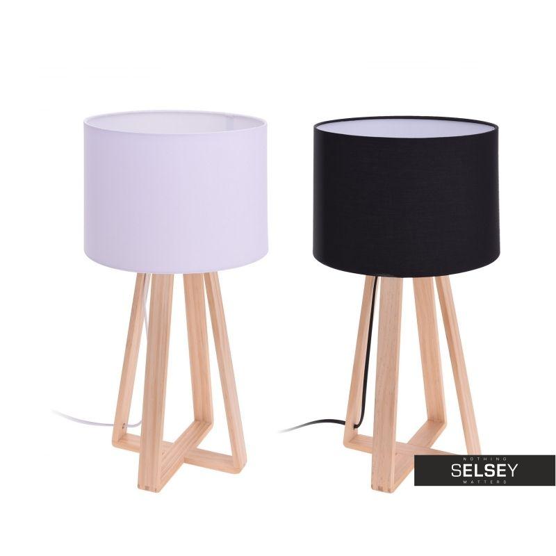 Lampa Stolowa Ze Skrzyzowana Podstawa 47 Cm Idealny Sposob Na Przytulny I Stylowy Pokoj Tripod Lamp Decor Home Decor