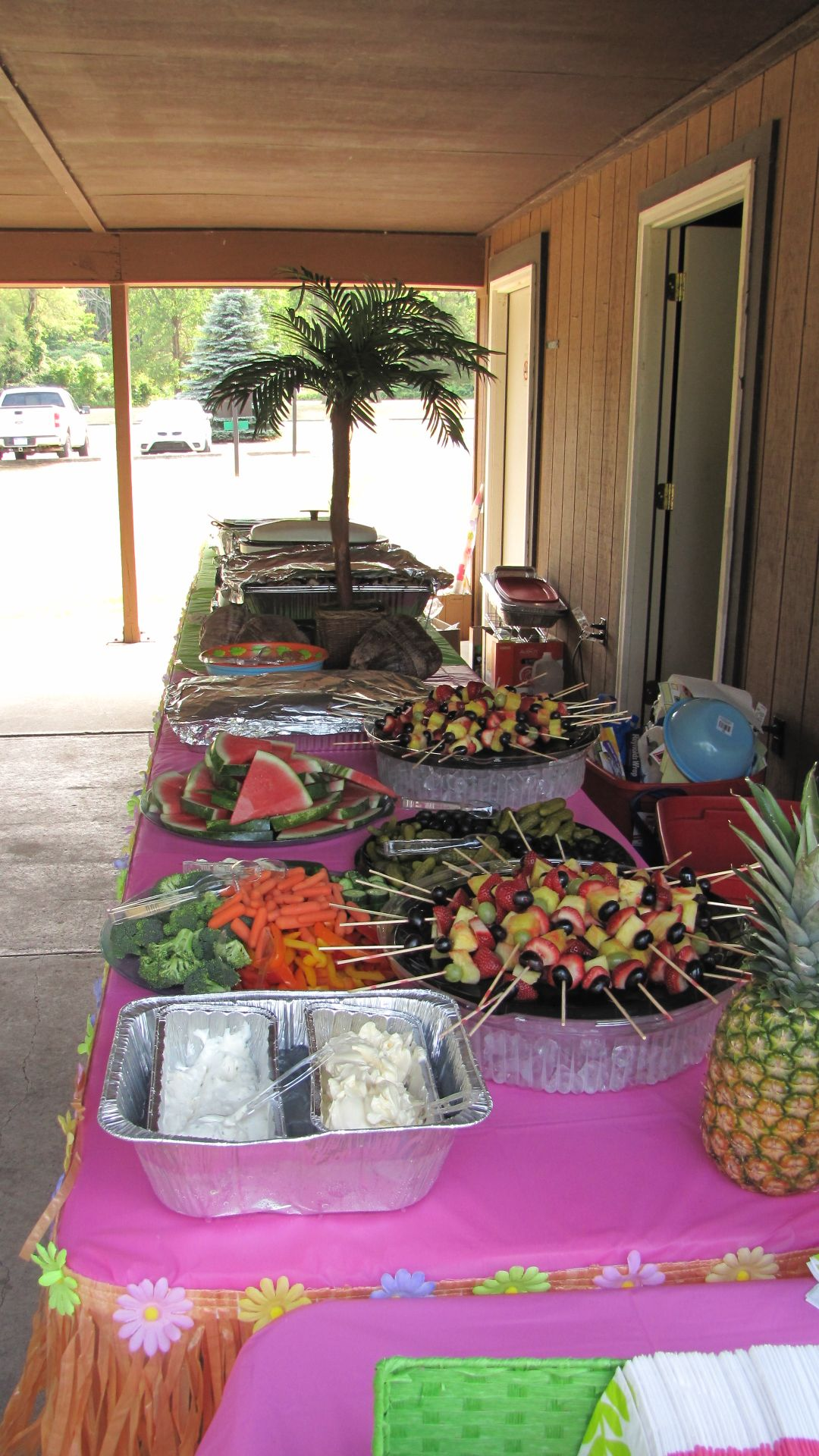 Explore Luau Party Birthday Parties And More Open House Food Table