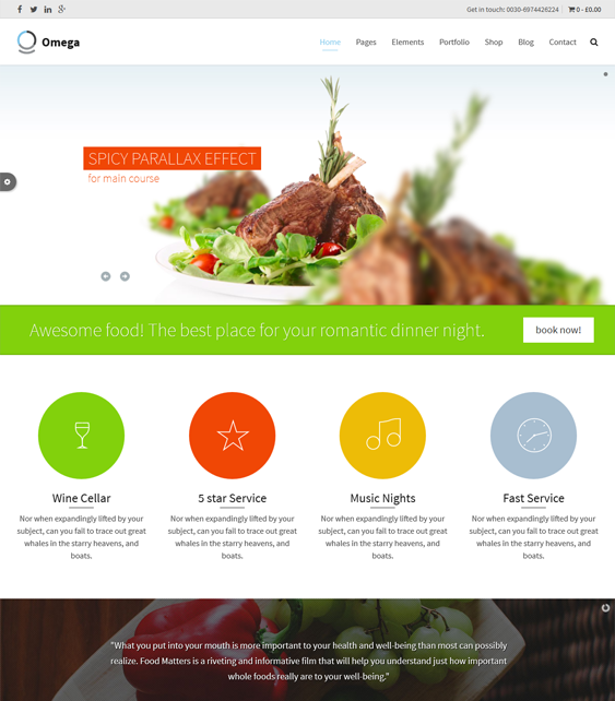 17 More of the Best Restaurant Themes for WordPress