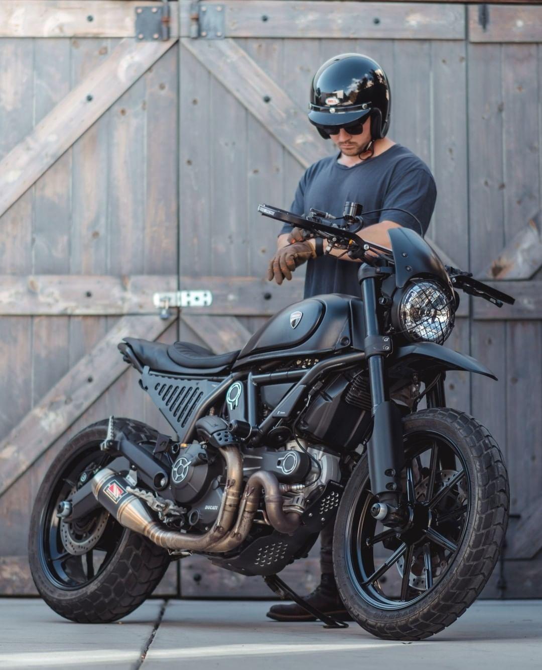 Gorm Taube On Instagram Time Check Gorm Moto Cali Californialove Motorb Scrambler Motorcycle Futuristic Motorcycle Ducati Scrambler Custom