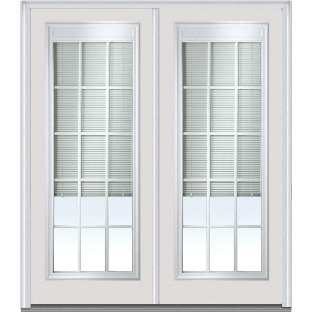 Mmi door in x in internal blinds and grilles lefthand full