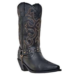 Dingo Women's Loretta Black Western Boots