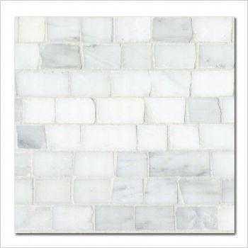 Hullebusch - old white - mosaics - 1.8xvl - getrommeld