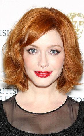 Christina Hendricks Debuts Shorter Haircut—See the