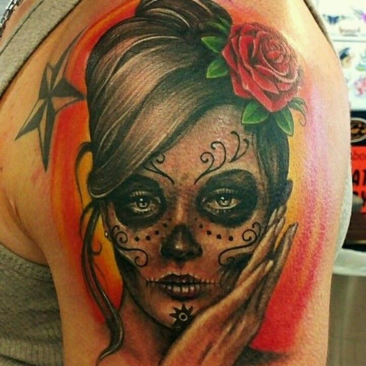 Lou Hopper Is Stunning Beautiful Stunning Tattoos: Tattoos, Girly Tattoos, Mexican