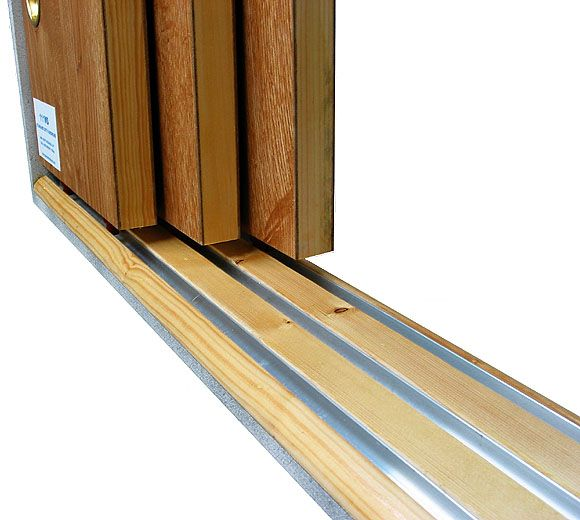 Pocket Door Track Hardware johnson hardware® 100md multi-pass sliding door hardware | closet