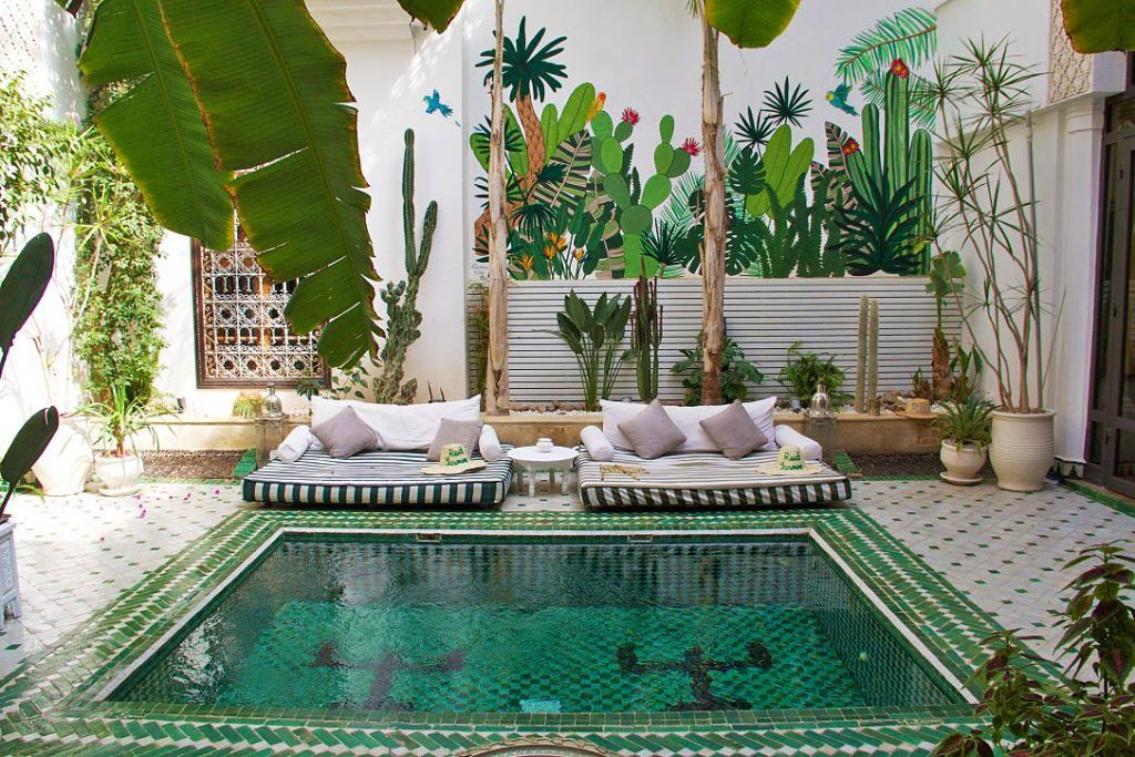 Marrakech The Most Beautiful Riads To Stay Spanish Pool