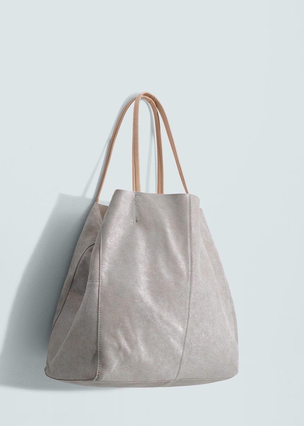 40ae663cff75 Fémes bőr táska - Női | Style | Bolso shopper, Bolso piel és Bolsos
