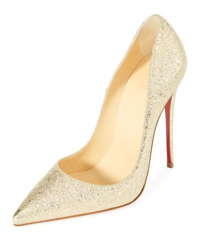 405cf30916c CHRISTIAN LOUBOUTIN SO KATE 120MM METALLIC RED SOLE PUMP.   christianlouboutin  shoes