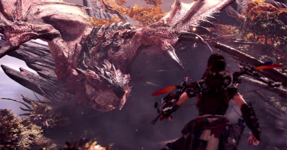 Aloy From Horizon Zero Dawn Joins Monster Hunter World As Dlc