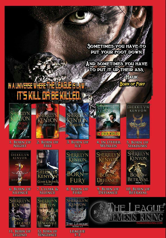 The League Reading List Sherrilyn Kenyon Dark Hunter League