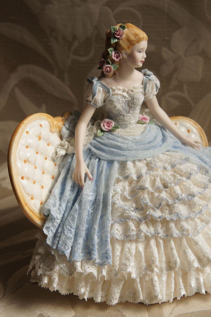 ブルーな世界 の画像 西宮レースドール教室 Keiko's Lace Doll studio