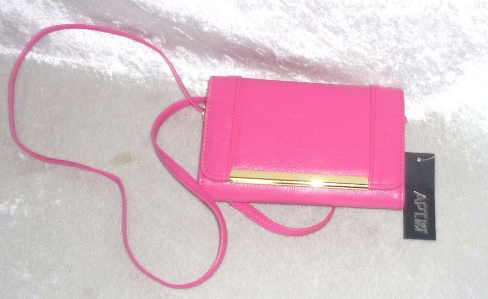 Apt 9 Womens Crossbody Bag Wallet Hot