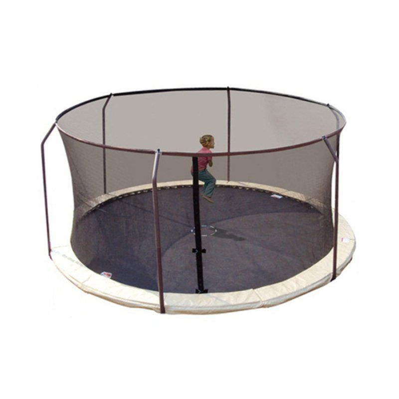 Fits Most Trampolines with Round Frames and Top Ring Enclosure System Upper Bounce Trampoline Replacement Safety Nets NET ONLY