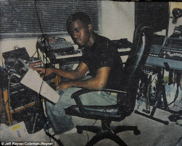 Before He Was Famous A Young Kanye West Is Seen In Childhood Snaps As He S Described As An Ambitious Small Kid Who Predicted His Success In High School Kanye West Kanye
