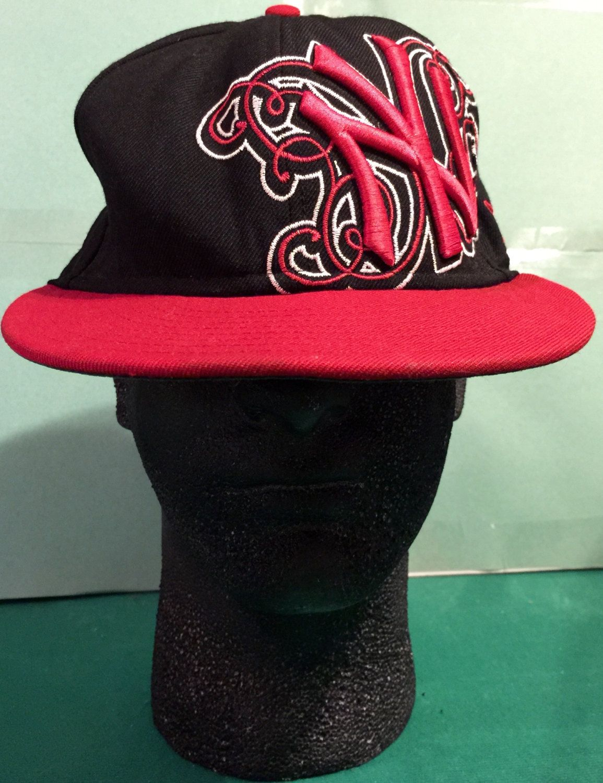 New york yankees new era red and black tattoo design size