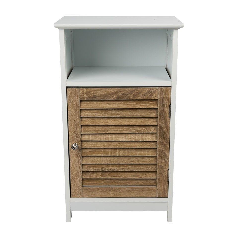 Kast - 3 planken en deurtje - 40x30x68.5 cm | Xenos | Ideeën voor ...