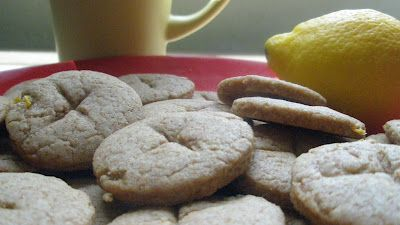 Truly whole wheat lemon cookies: I will make with Truvia
