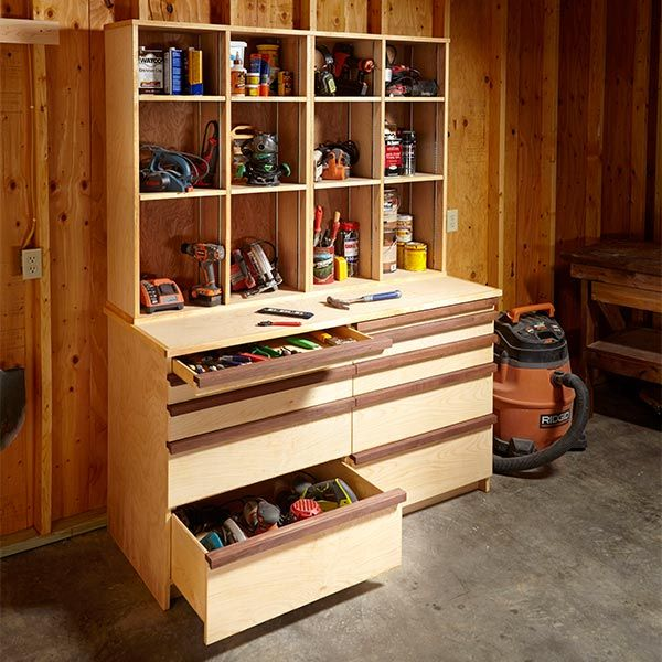 Neatly Pack Away Most Of Your In This Attractive Tool Storage Cabinet Which Features