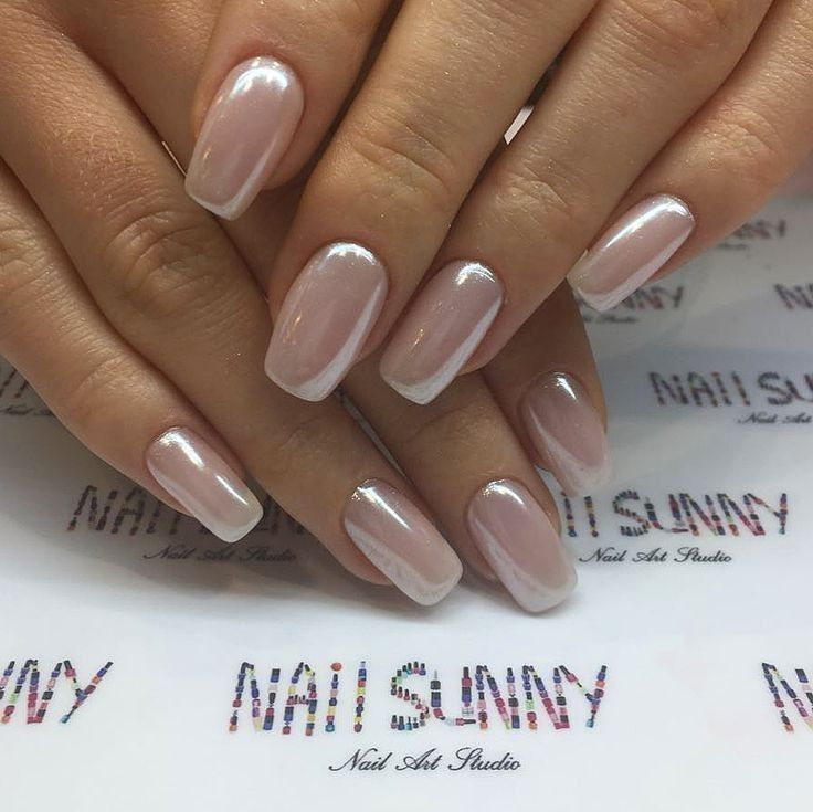 Pin By Marie Louis On Beauty Ideas Champagne Nails Pearl Nails Elegant Nail Designs