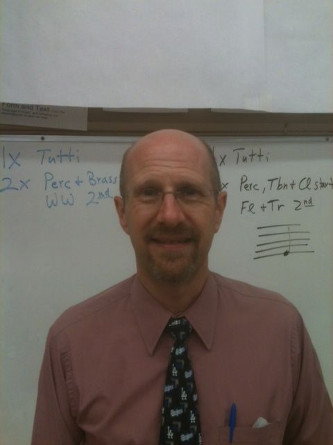 Monday S Teacher Of The Day Mark Johnsen From Sherman Oaks Center