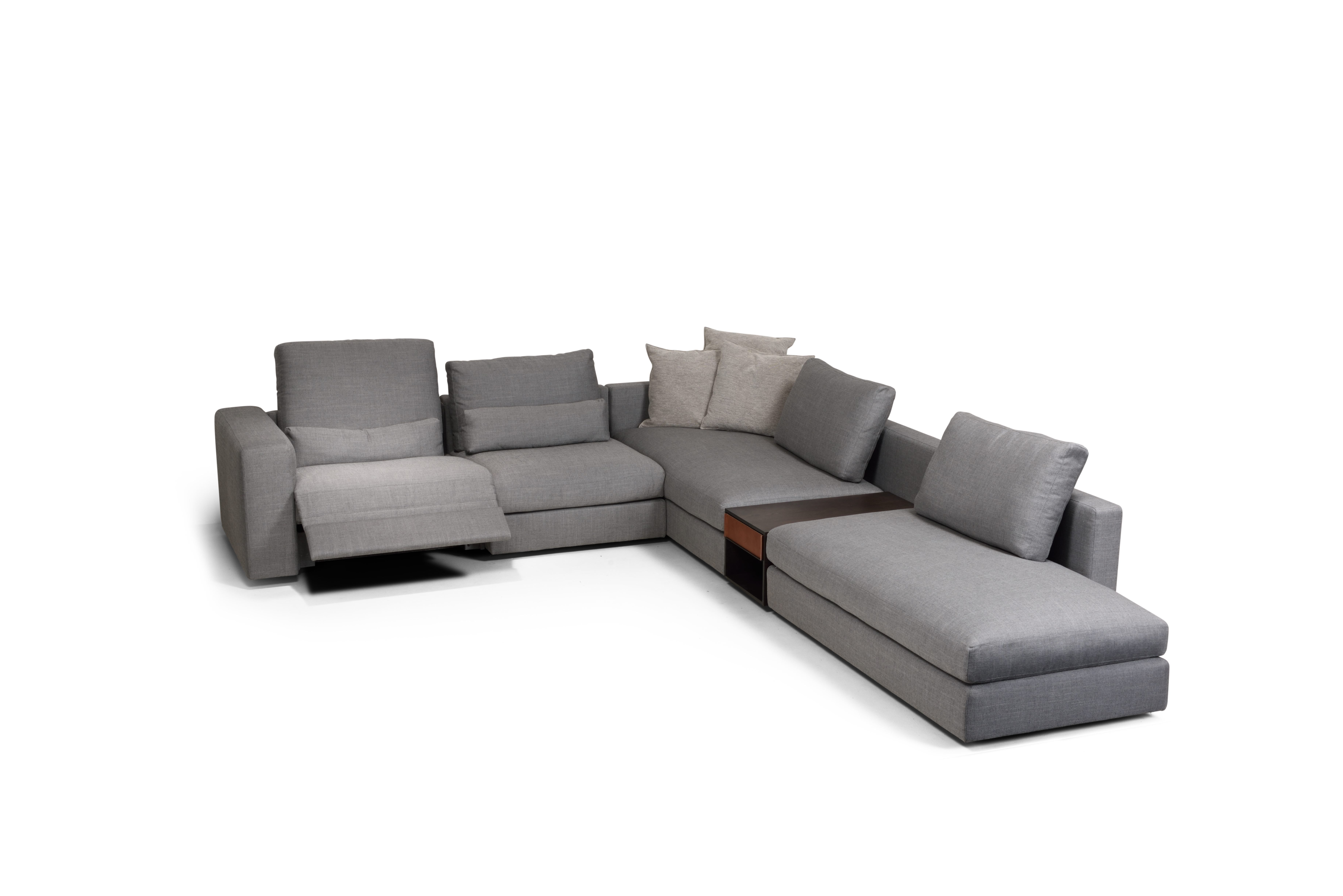 Luv Indera flexible sofa with integradet relax | Indera: LUV by ...