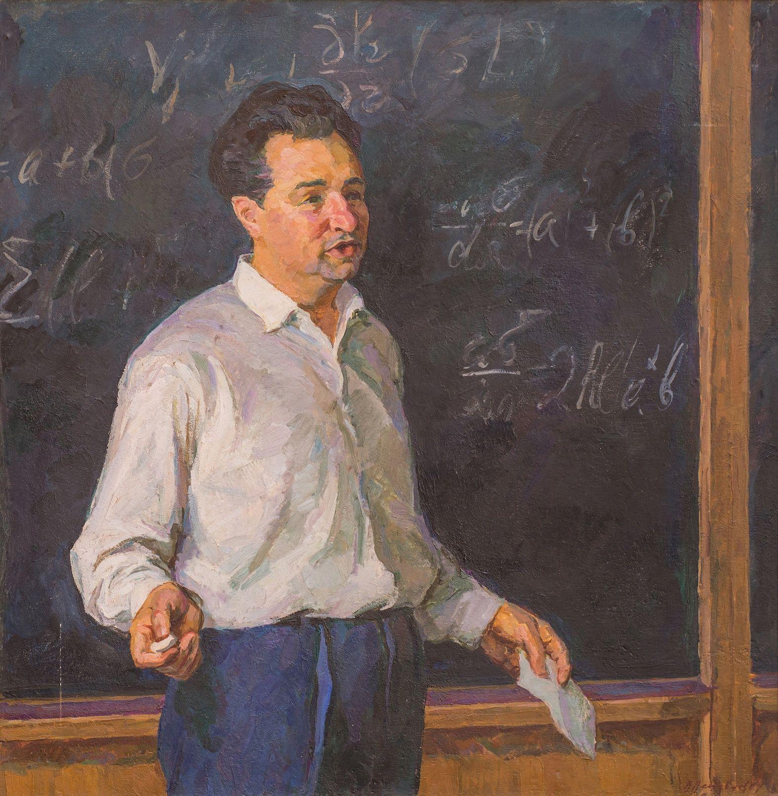 Портрет профессора Смородинского. 1964 художник  Enseignant