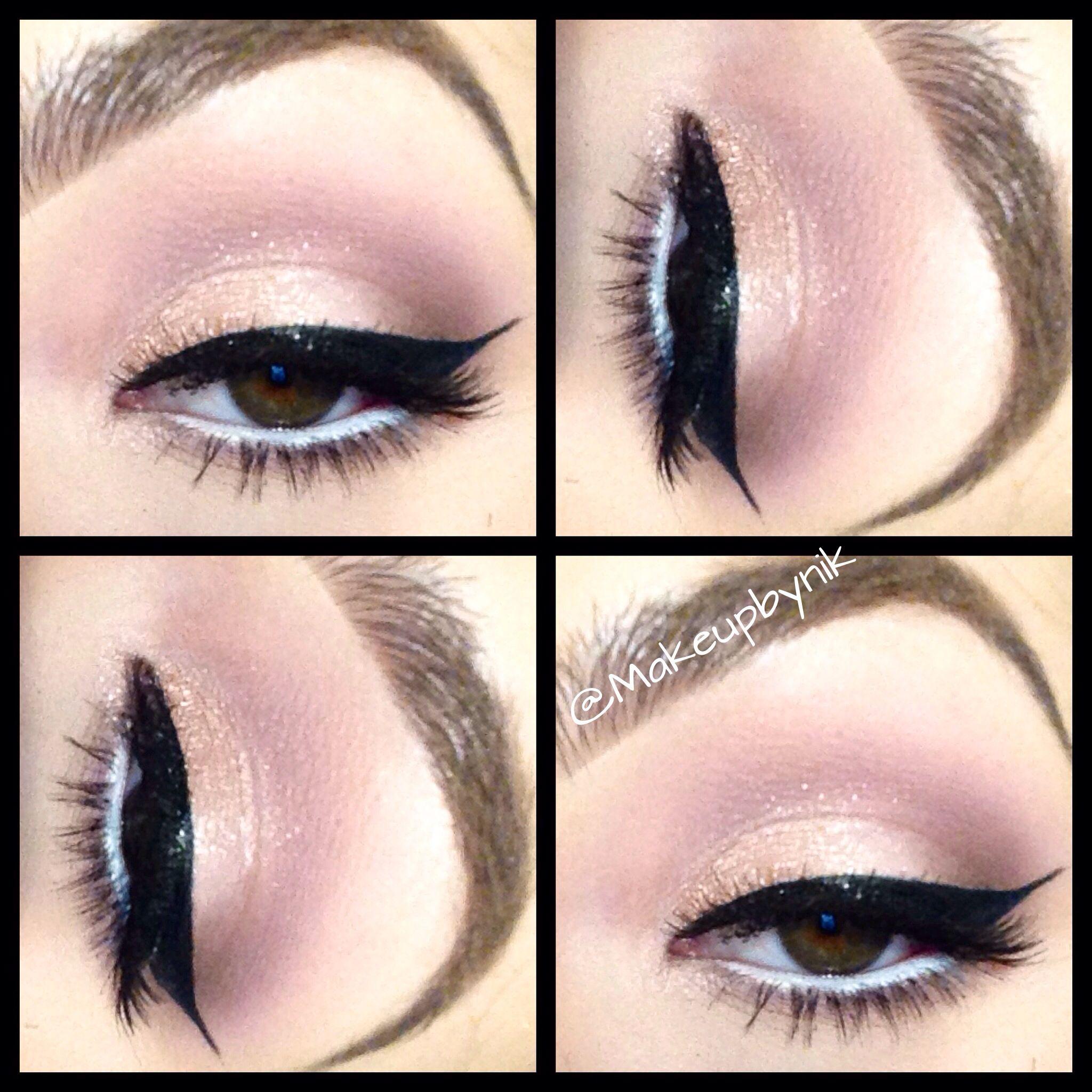 Light Pink And Mauve Eye Using Lorac Pro Palette Makeupbynik