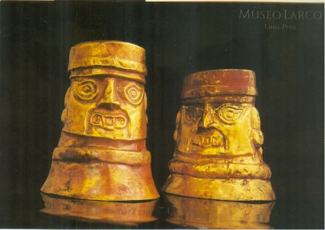 Vasos Ceremoinales-Lambayeque Culture
