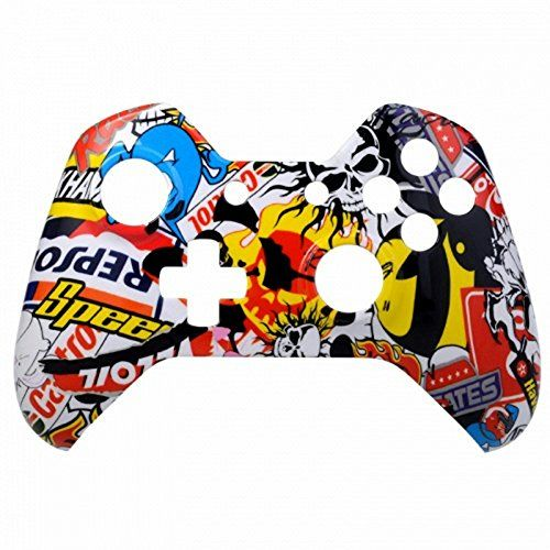 Mod Freakz Xbox One Controller Front Shell Hydro Dipped Sticker Bomb -- Click image for more details.Note:It is affiliate link to Amazon.
