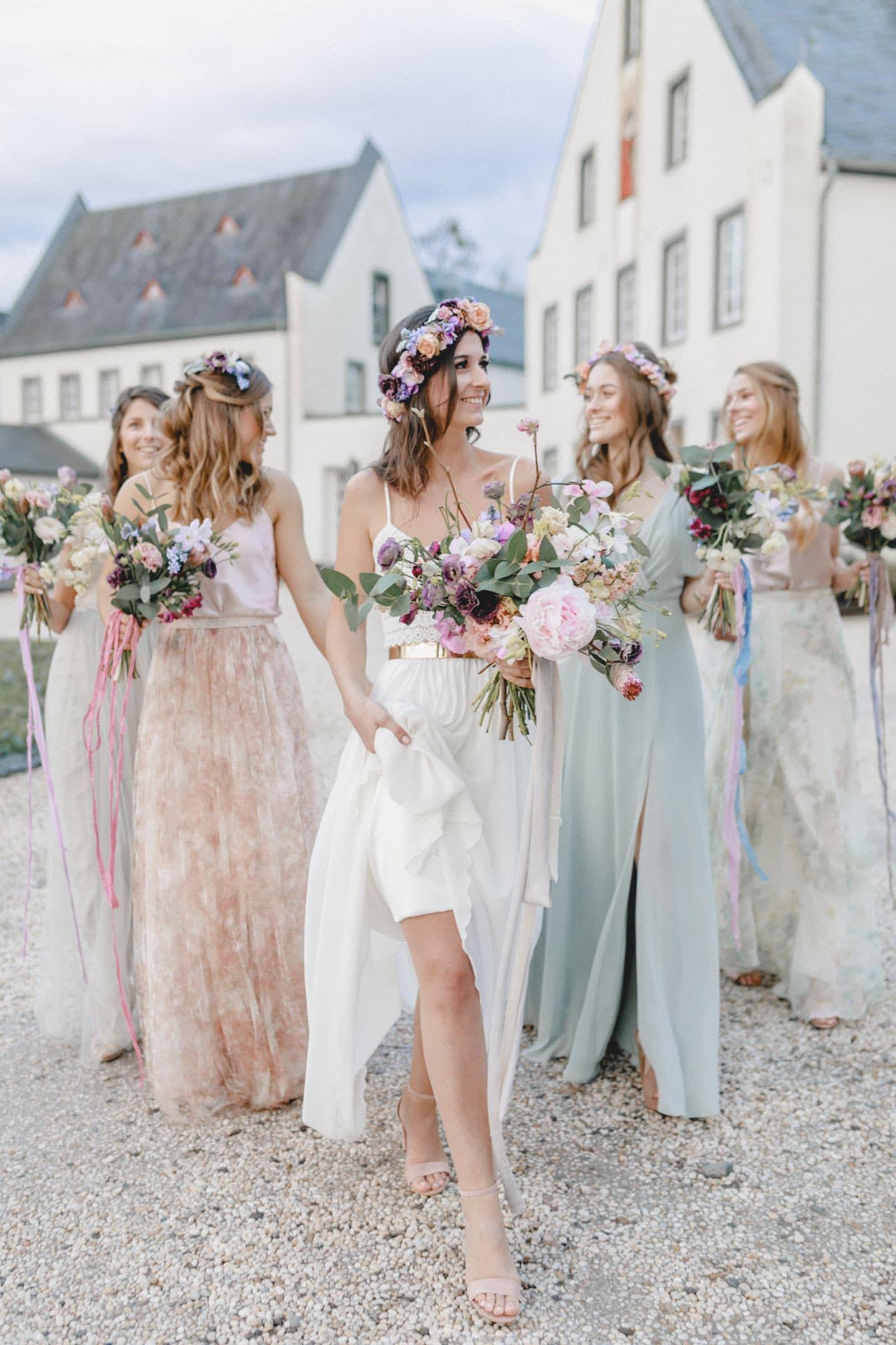 Bina Terre Photography Kleid Hochzeit Hochzeitsarten Pastell Hochzeit